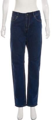 Alessandro Dell'Acqua Mid-Rise Straight-Leg Jeans