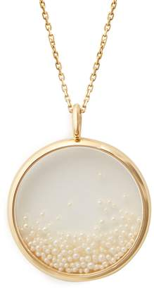 Aurelie Bidermann FINE JEWELLERY Pearl & yellow-gold necklace