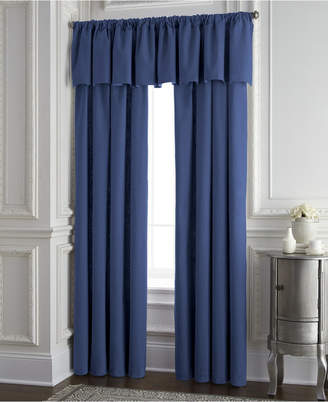 Colcha Linens Cambric Denim Tailored Valance Bedding