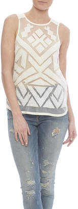Lucky Brand Tribal Tank
