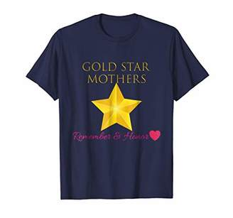 Lovely Gold Star Mothers Remember & Honor Shirt Outfit Gift