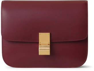 Celine Classic Box Medium Burgundy
