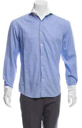 Michael Bastian Plaid Button-Up Shirt