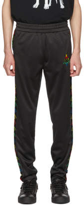 Marcelo Burlon County of Milan Black Kappa Edition Lounge Pants