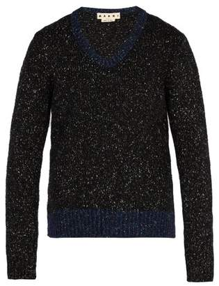 Marni V Neck Sweater - Mens - Black