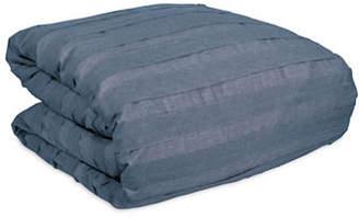 DKNY Loft Striped Cotton Duvet Cover