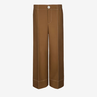Wide Legged Twill Pants $1,150 thestylecure.com