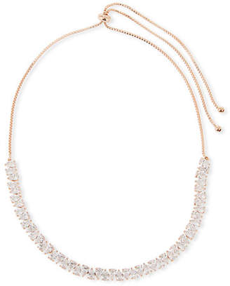Fallon Monarch Jagged Edge Crystal Choker Necklace
