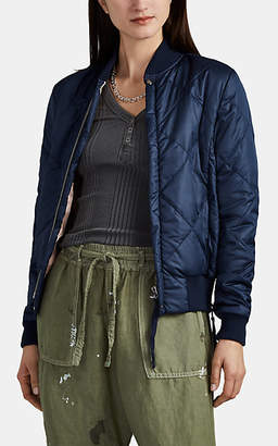 NSF Women's Neil Quilted Bomber Jacket - Navy