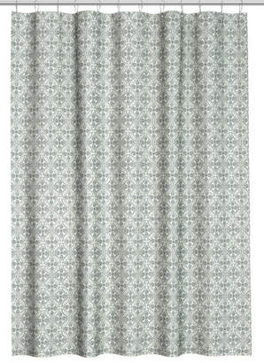 H&M Patterned Shower Curtain - White