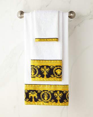 Versace Baroque Border Large Bath Towel