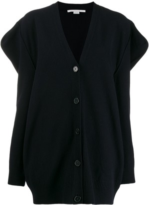Stella McCartney structured sleeves cardigan