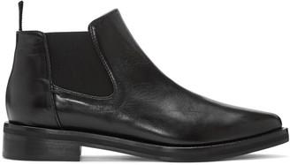 McQ Alexander Mcqueen Black Chelsea Boots $540 thestylecure.com