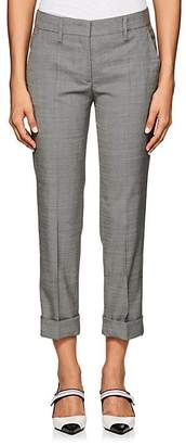 Prada Women's Stretch Wool-Silk Sharkskin Pants