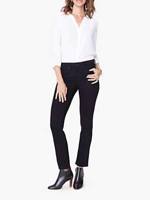 NYDJ Sheri Slim Jeans, Black
