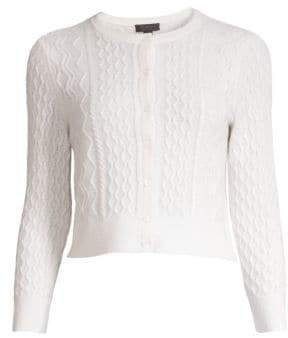 Saks Fifth Avenue COLLECTION Cashmere Cable Knit Shrug