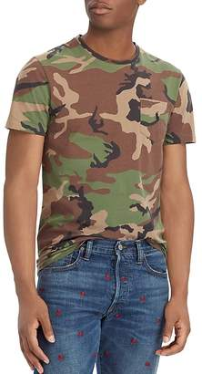 Polo Ralph Lauren Polo Custom Slim Fit Camouflauge Tee