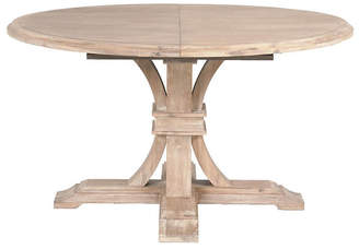 "One Kings Lane Mark 54"" Round Extension Dining Table"