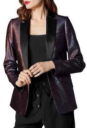 Karen Millen Metallic Tailored Blazer