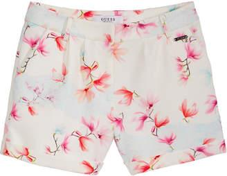 GUESS Floral-Print Shorts, Big Girls