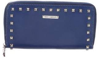 Rebecca Minkoff Large Luma Studded Zip Wallet