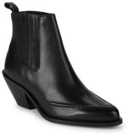 Kenneth Cole Rhyden Leather Ankle Boots