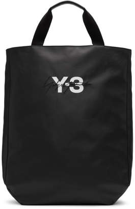 Y-3 Y 3 Black Logo Tote