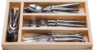 Jean Dubost Everyday Stainless Steel Flatware Set (Set of 24)