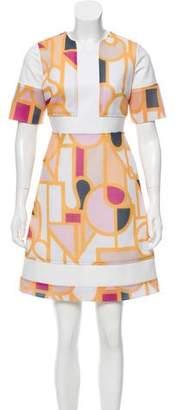 Raoul Printed Mini Dress