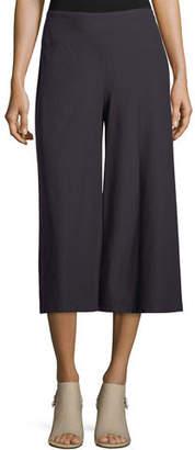 Eileen Fisher Crepe Culottes w/ Yoke