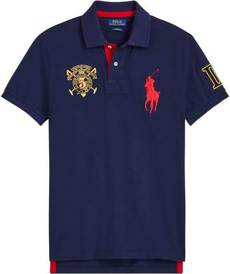 Ralph Lauren Custom Fit Mesh Polo Shirt