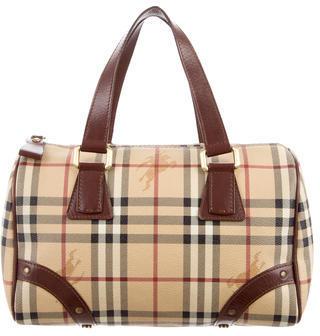 Burberry Burberry Haymarket Bowler Bag