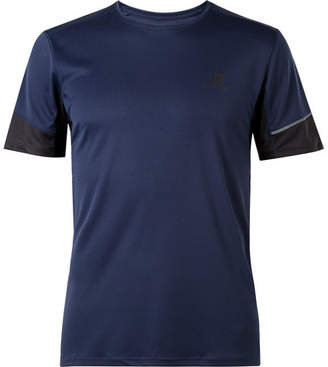 Salomon Agile Jersey T-Shirt - Men - Navy