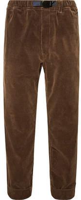 Pilgrim Surf + Supply Cropped Wide-Leg Cotton-Corduroy Trousers