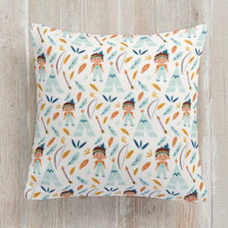 Tepee Self-Launch Square Pillows