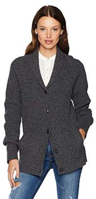Pendleton Women's Ribbed Lambs Wool Cardigan Sweater