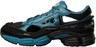 Raf Simons Adidas X Replicant Ozweego Trainers - Black / Blue