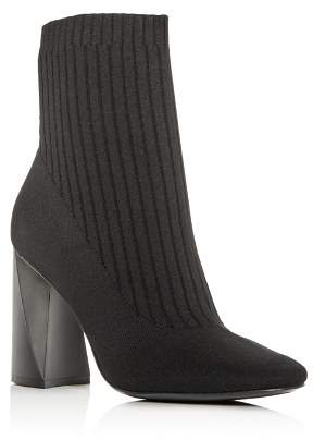 KENDALL + KYLIE Women's Tina Knit High-Heel Booties