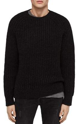 AllSaints Mast Chunky-Knit Crewneck Sweater