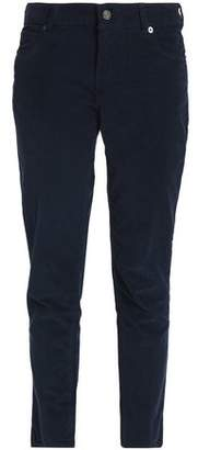Vanessa Bruno Hasni Cotton-Blend Corduroy Slim-Leg Pants