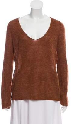 Halston Lightweight Scoop Neck Sweater