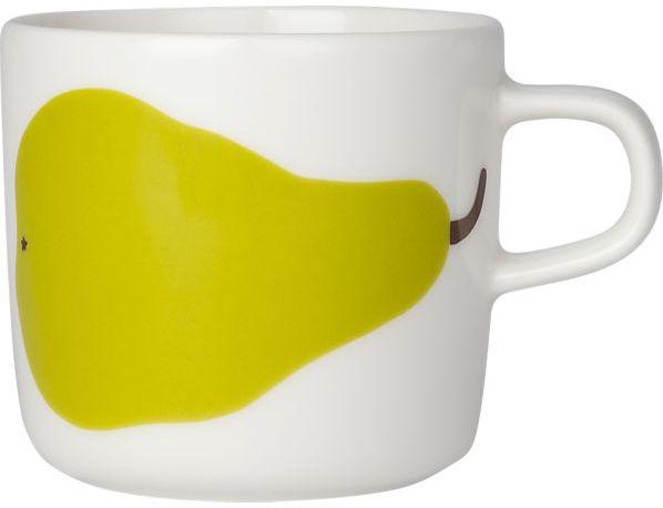 Marimekko Paaryna White and Green Cup
