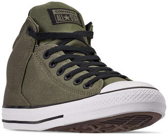 8c1742f6bf6 Converse Men Chuck Taylor All Star High Street High Top Uniform Canvas Casual  Sneakers from Finish