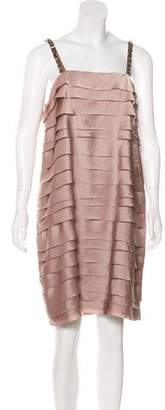 Lanvin Tiered Cocktail Dress