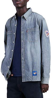 Levi's MLB Toronto Blue Jays Cotton Chambray Sport Shirt