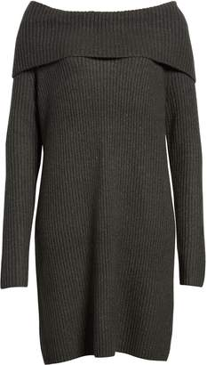 Halogen Cowl Neck Sweater Dress