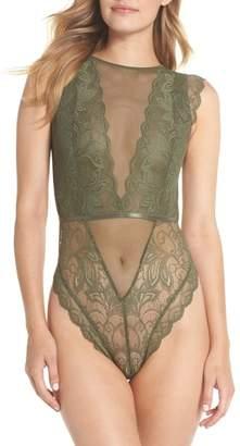 Halogen Lace Bodysuit