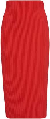 Versace High Waisted Knit Skirt