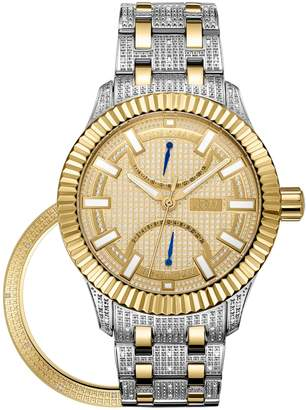 JBW Men's Special Edition Crowne .50 ctw Diamond Watch & Bezel Set J6363C