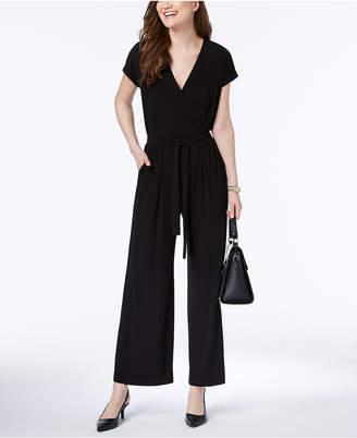 Alfani Wide-Leg Jumpsuit, Created for Macy's